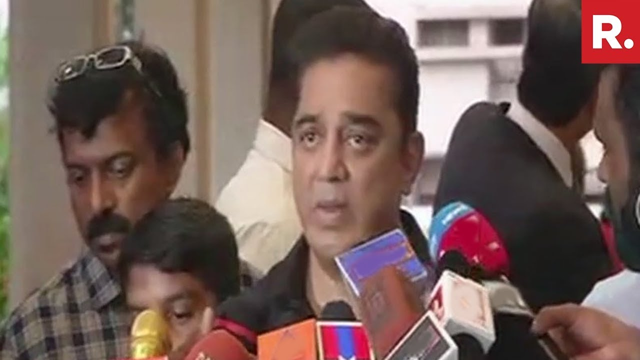 Kamal Haasan Talks About Entering Politics, Says Won't Enter BJP