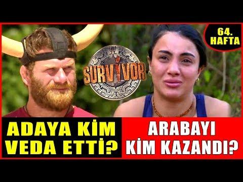 Survivor'da Kim Elendi! Adaya Sabriye Mi Okay Mı Veda Etti? İşte Arabayı Kazanan İsim! 7 Mayıs 2019