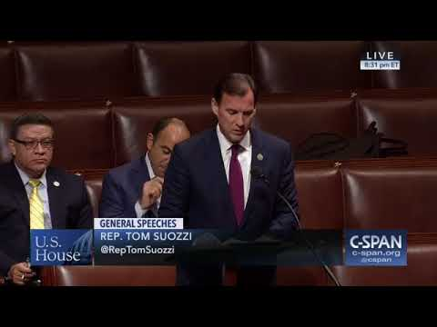 Rep. Tom Suozzi floor speech on climate change