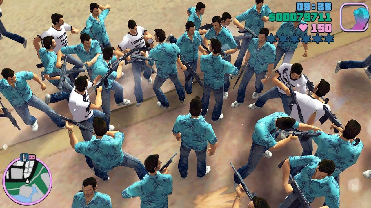 GTA Vice City Best Mods 8 Tommy Clones, Cheat Codes, Money Hack