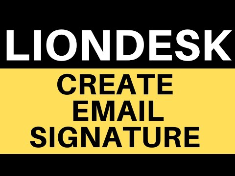 Professional Email Signatures On LionDesk CRM - Embed Images