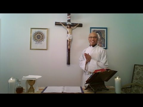 Sunday Mass, March 22, 2020, Holy Name Of Jesus Parish, CA -- Fr. Gino Galley