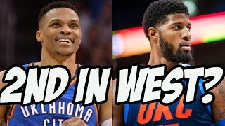 With Carmelo Anthony Gone, How Much Better Are The OKC Thunder?