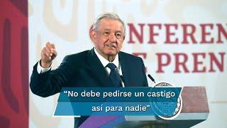 El presidente Andrés Manuel López Obrador dijo que no está de acuerdo con la decisión de su hermano de demandar penalmente al periodista por la difusión de un video en el cual se ve a Pío López recibiendo una bolsa con dinero de manos de David León