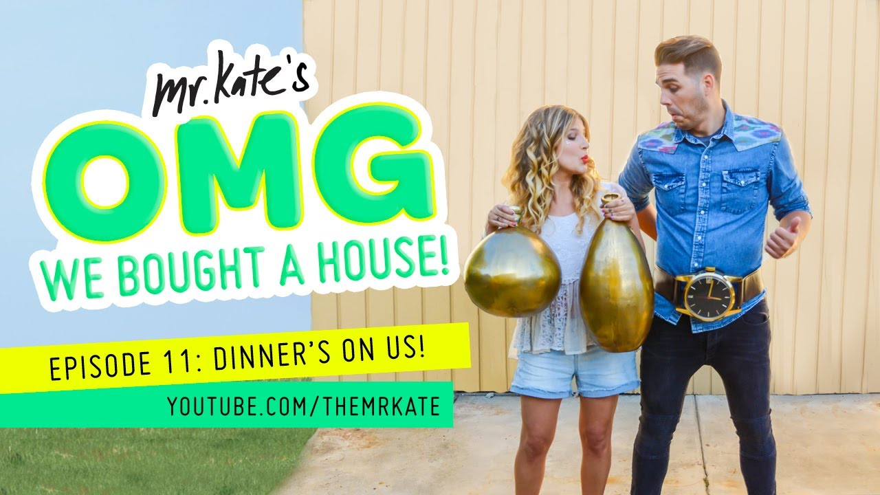 Dinner's On Us! | OMG We Bought A House!