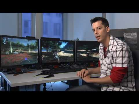 Nvidia 3D Vision Surround - 3 Monitore mit 3D-Brille im GameStar-Test