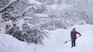 Bayern versinkt im Schnee