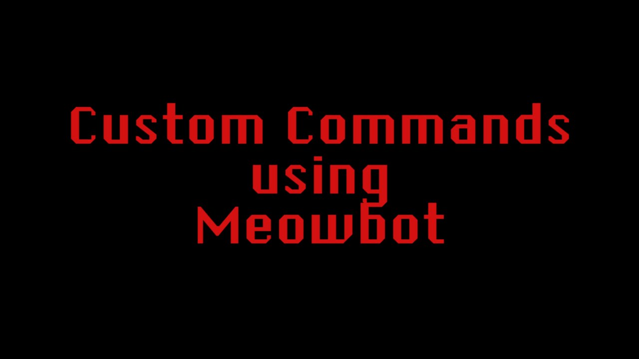 how to make commands on twitch