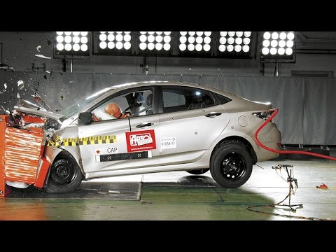 Краш тест Авторевю Hyundai Solaris