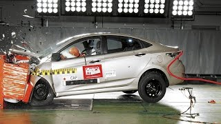 Краш тест Авторевю Hyundai Solaris смотреть