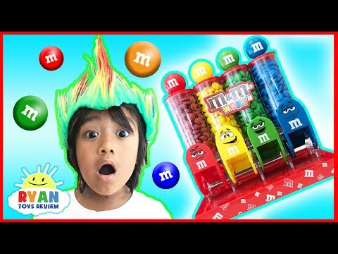 Thumbnail: BAD KID STEALS M&M IRL Kids Pretend Play! Learn Colors with Candy for Children Toddlers and Babies