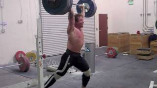 Donny hits 440 pounds, Spencer