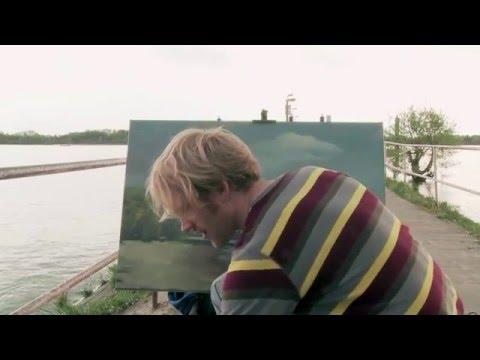 Malen am Fluss, Landschaft richtig skizzieren mit Farbe