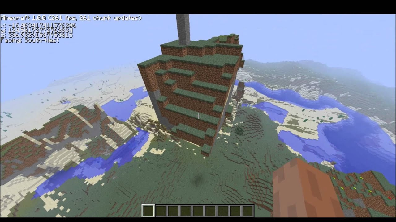 Minecraft limit world mod