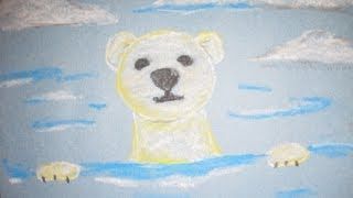 Chalk Pastel Polar Bear: A Drawing Lesson