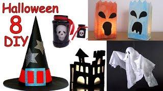 8 Manualidades FACILES para Halloween - Manualidades Para Todos