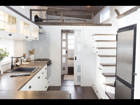 Download Youtube: The Laurier, Luxurious Offthegrid tiny house on wheels