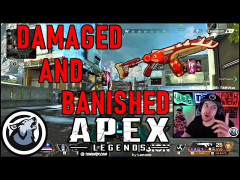 VISS DAMAGED AND BANISHED TO THE SHADOW REALM w/ TANNER THE LEGEND and VSNZ! APEX LEGENDS SEASON 3