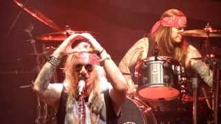 Steel Panther - Turn out the Lights + Tilburg Titties + Glory Hole @ 013 Tilburg (NL) 2014-march-12