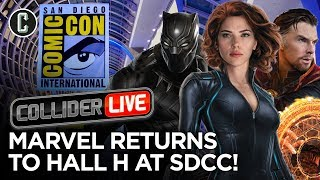MCU Phase 4 to Be Announced at San Diego Comic-Con - Collider Live #159 thumbnail