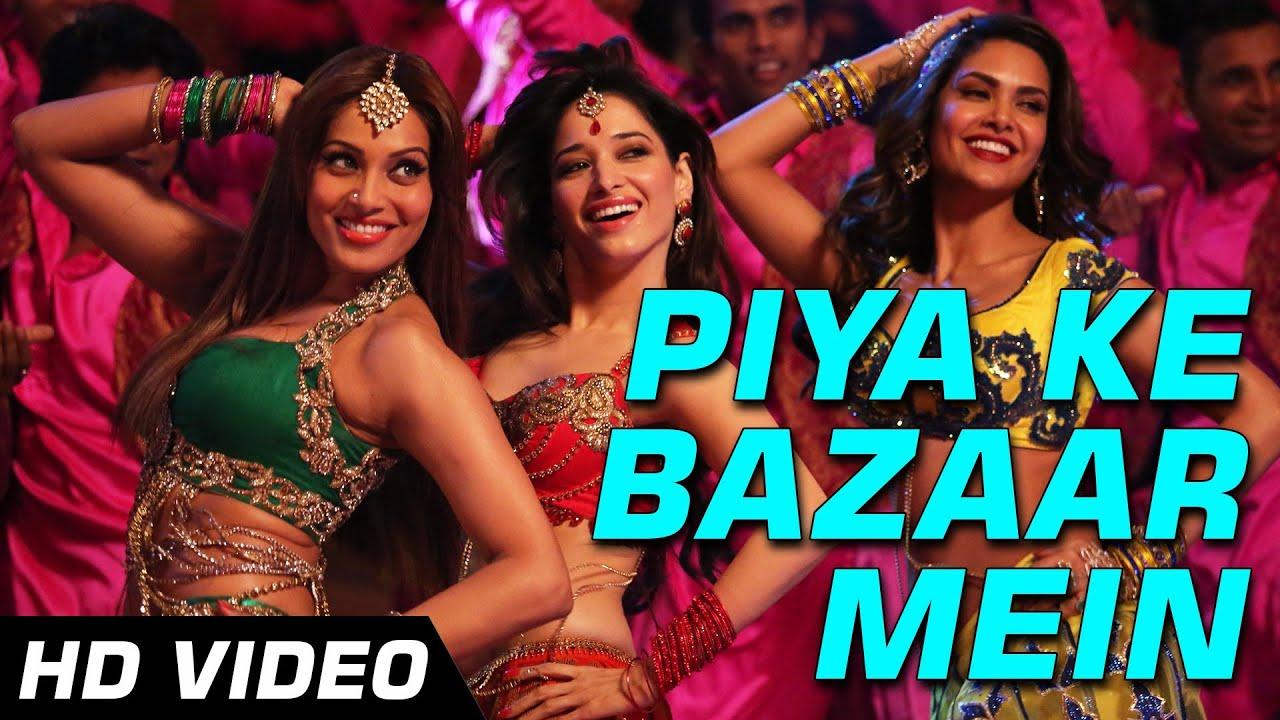 Piya ke bazaar mein humshakals hd video song saif riteish bipasha tamannaah ram kapoor 1080p youtube