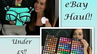 eBay Haul!! Bargains Under £5 Thumbnail