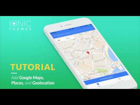 Add Google Maps Places And Geolocation To An Ionic App YouTube - Google maps themes
