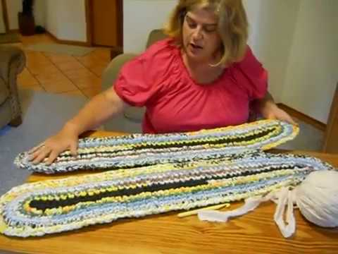 Oval Rag Rug For Beginners Erin Halvorsen