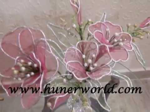 flower making, net, clay,Dough flower, dry arrangement ...