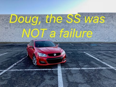 The Chevy SS Was Not A Failure | Holden Commodore SSV Redline