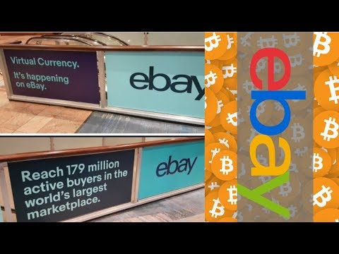 EBay To Begin Accepting Bitcoin & Other Cryptocurrencies