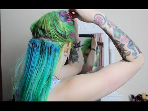 Removing My Glued In Hair Extensions