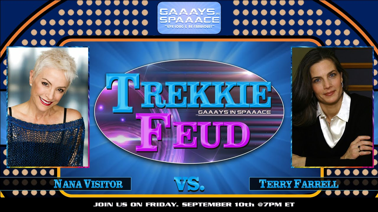 Download GIS TREKKIE FEUD Ep 5: Nana Visitor Vs Terry Farrell