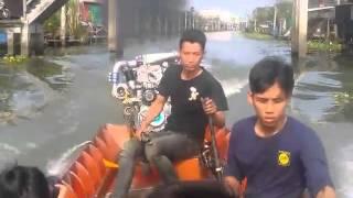 Diesel Longtail Racing Boat