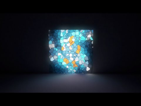 Procedural Stained Glass Fast (Blender Tutorial)