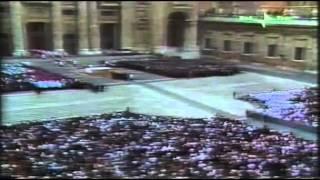 Funerale di papa Paolo VI Agosto 1978