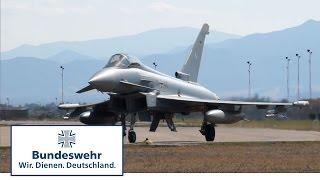 Eurofighter der Bundeswehr trainieren Luftkampf auf Sardinien