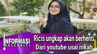 Gambar cover Jika Nanti Sudah Menikah, Ria Ricis Ingin Berhenti dari YouTube