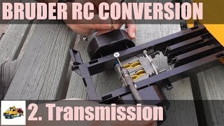 Bruder MB Sprinter RC conversion Part 2 - transmission