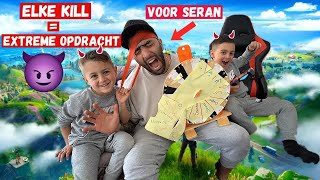 ELKE KILL IN FORTNITE IS EEN STRAF VOOR SERAN 🎮! | LAKAP JUNIOR