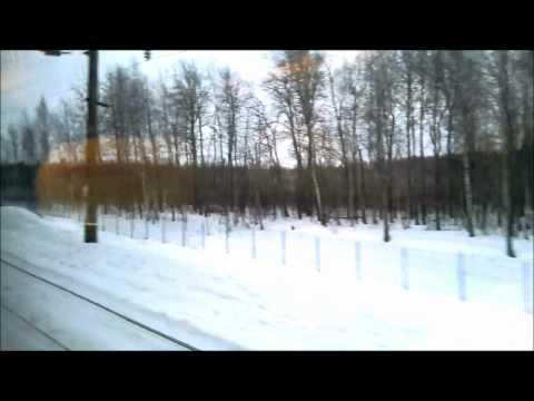Москва- Нижний-Новгород 2012 год (Сапсан)