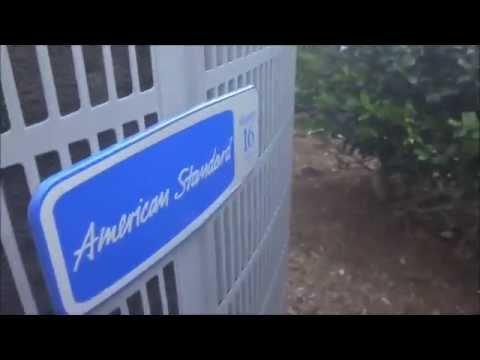 2009 American Standard Allegiance 16 4 Ton 16 Seer Air