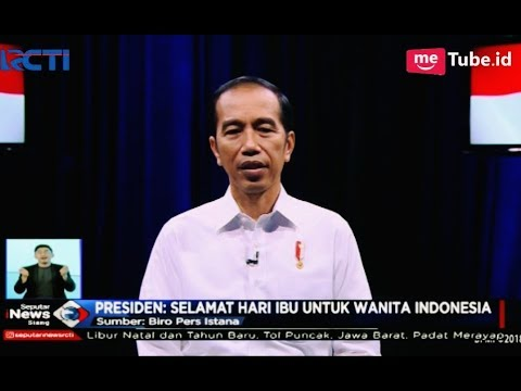 MENYENTUH! Ucapan 'Selamat Hari Ibu' dari Presiden Jokowi - SIS 22/11
