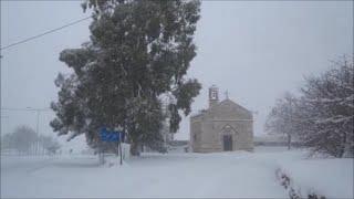 Neve di San Silvestro - Sul cucuzzolo della montagna