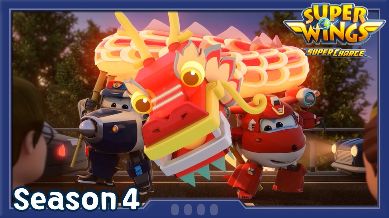 Download A Happy New year Adventure | Superwings season4 | EP34