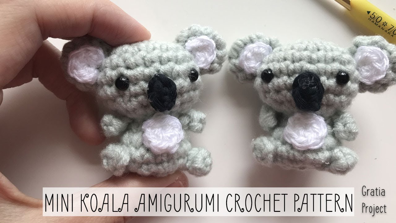 Amigurumi Koala Bear - A Free Crochet Pattern - Grace and Yarn | 720x1280