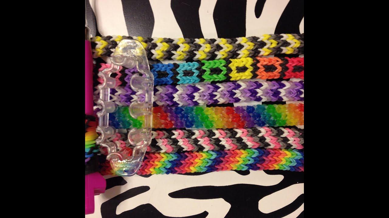 Tight Knit bracelet on the MonsterTail - YouTube