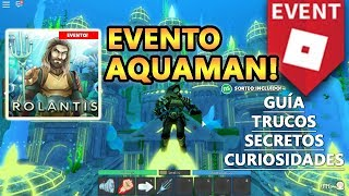 Aquaman EVENT! How to Have All Items + New Sweepstakes, Roblox English Guide Tutorial 1