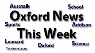 Oxford News This Week: 9-23-19