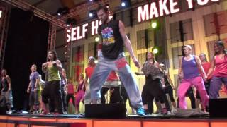 Steve Boedt - Zumba - Shakira - Belly Dance - the Nike Blast 2011 Sweden